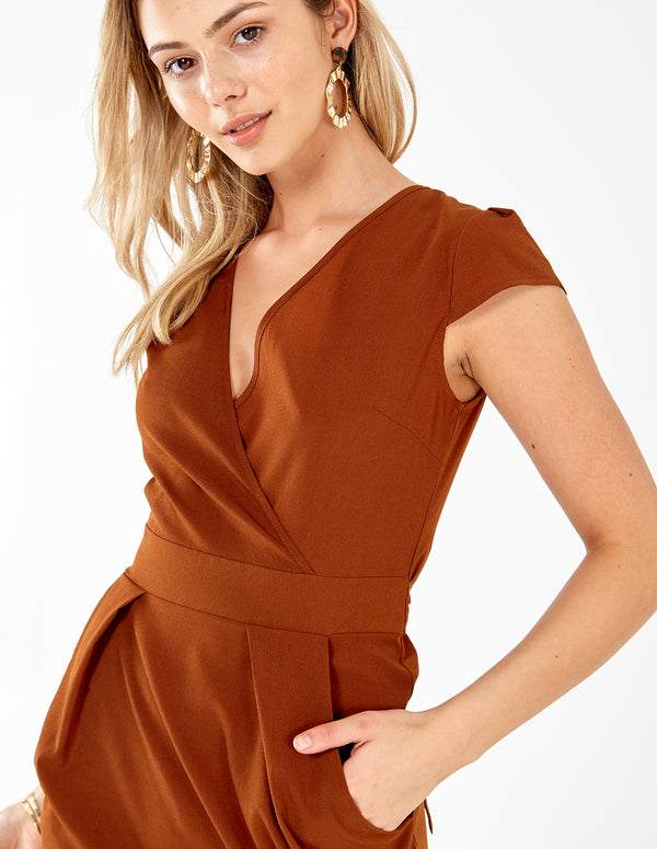 INAAYA - Wrap Front Tulip Dress