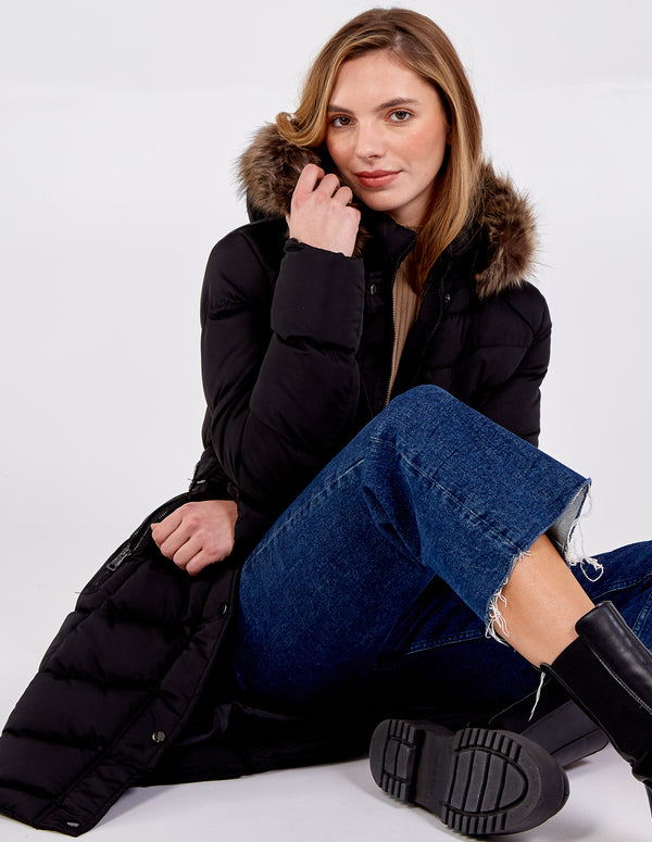 TEIGAN - Hooded Puffer Coat