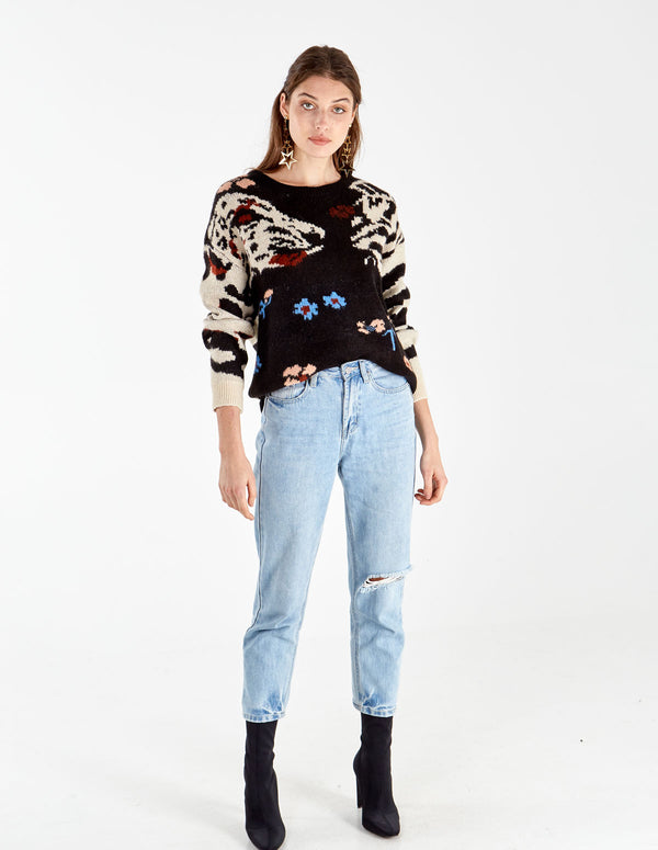 MIRA - Mixed Print Jumper