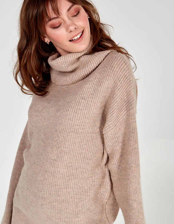 KLAUDIA - Roll Neck Jumper