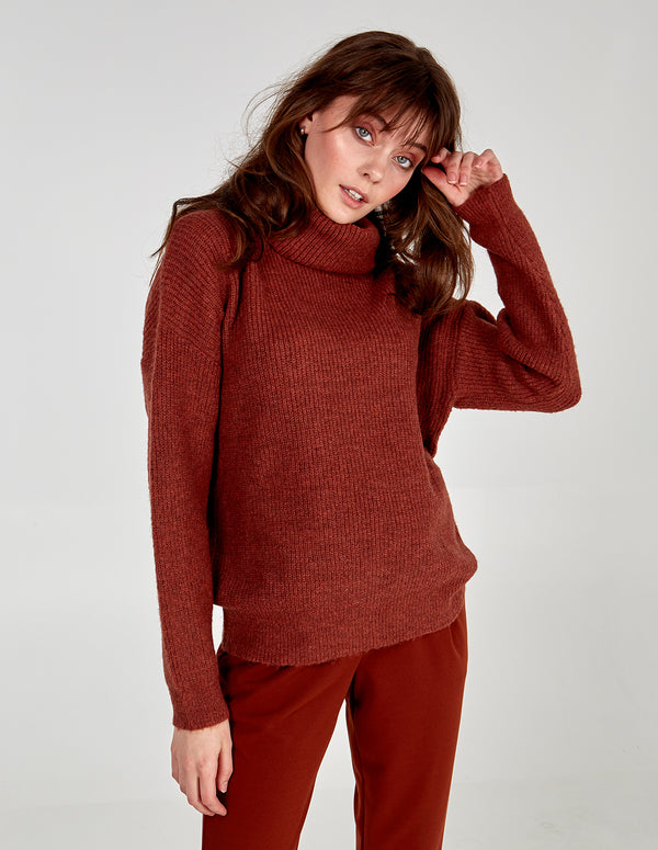 KLAUDIA ROLL NECK JUMPER