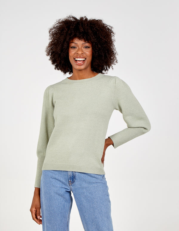 NYLA - Balloon Sleeves Jumper