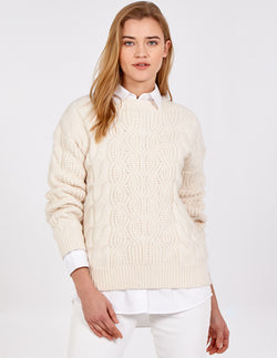 SOPHIA - Cable Knit Jumper