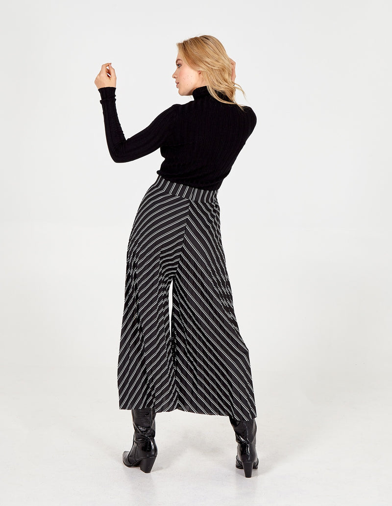 ANNALEE - Stripe Pleated Culottes