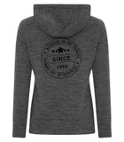 Ladies Dynamic Heather Fleece Hoody