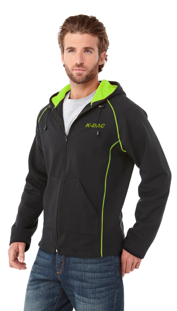 Full Zip Cotton Hoody