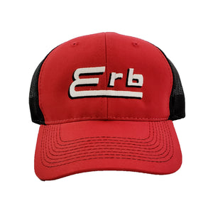 Red Hat Black Mesh Backing