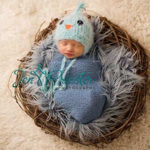 Baby Bird Crochet Newborn Hat