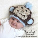 Chunky Monkey Baby Boy Hat