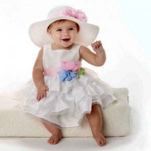 Fancy Easter Baby Sun Hat for Baby Girls