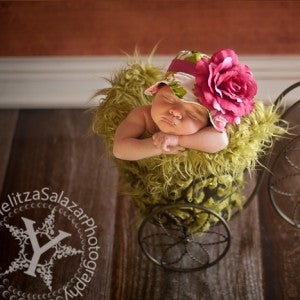 Fancy Flowers Baby Sun Hat