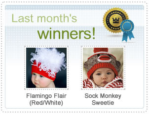 Melondipity Hat of the Month January Winners