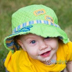 Later Gator Baby Sun Hat