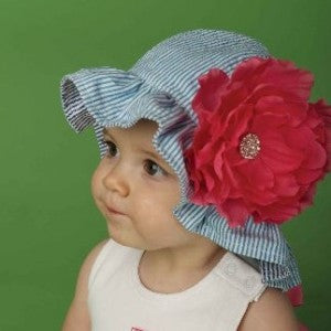 Martha's Vineyard Sun Hat for Baby and Toddler Girls