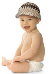 Knit Cap for Baby Boy