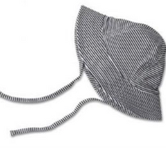 Baby Sun Hat with Ties