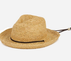 Wicker Hat for Toddlers