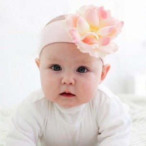 Pale Pink Beauty Baby Headband