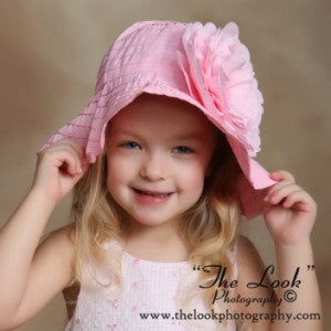 Pink Princess Girls Toddler Sun Hat