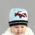 Red Racer Baby Hat