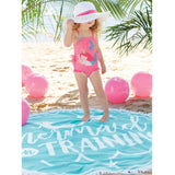 Woven Mermaid Sparkle Sun Hats - Pink, Blue or White Toddler Girls Sun Hat