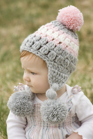 ... Ear-Flap Lilly Baby Girl Hat ... 43512e56f27