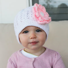 Interchangeable Flower Hat for Baby Girls icon
