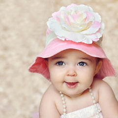 Bubble Gum Kisses Baby Sun Hat icon
