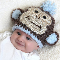 Chunky Monkey Baby Boy Hat icon