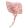 Rose Garden Vintage Bloom Baby Girl's Bonnet - Bonnet for Baby Girls and Toddler Girls