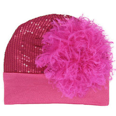 Crazy Love Sequin Baby Girl Beanie icon
