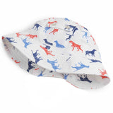Dog Days Printed Sun hat for Baby and Toddler Boys