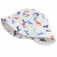 Dog Days Printed Sun hat for Baby and Toddler Boys icon