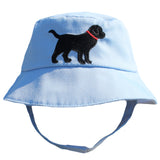 Black Lab Baby and Toddler Boys Blue Sun Hat