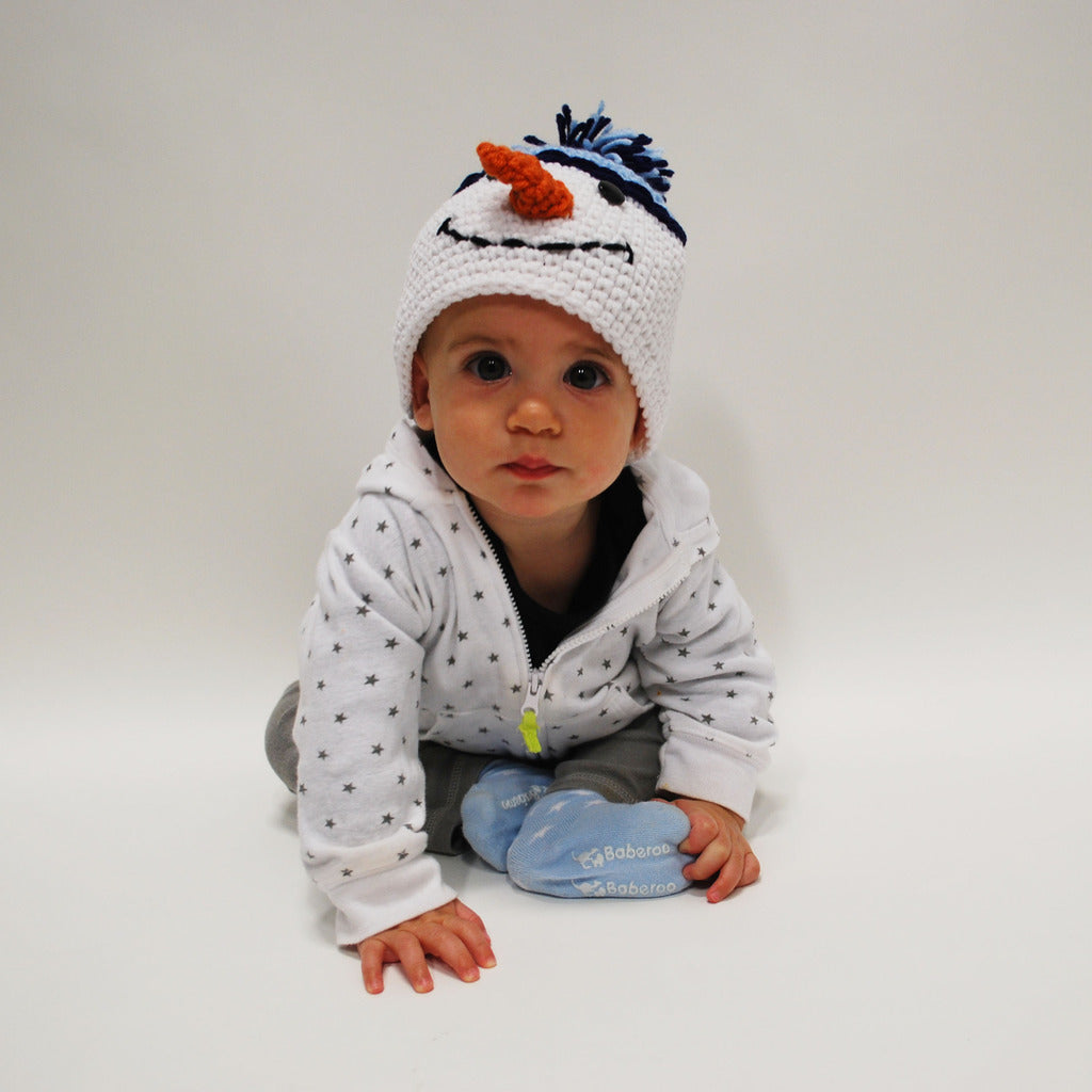 Mr. Frosty The Snowman Beanie Baby Hat