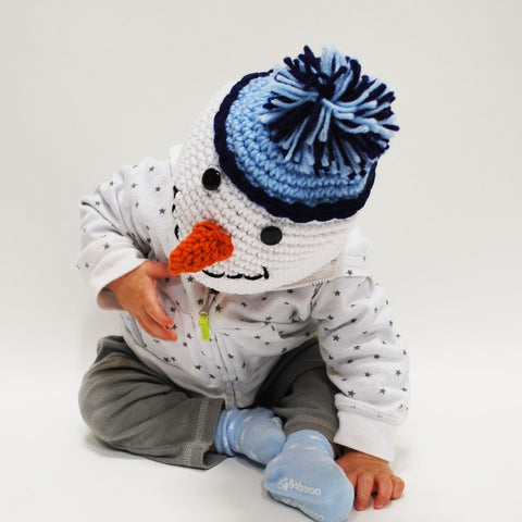 1f30c5f98 Mr. Frosty The Snowman Beanie Baby Hat