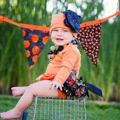 Hooray for Halloween Baby Girls Hat icon