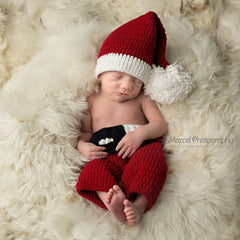 Jolly Baby Santa Claus Hat and Pants SET icon