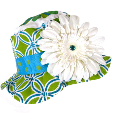 Kiwi Hawaiian Ice Baby Sun Hat