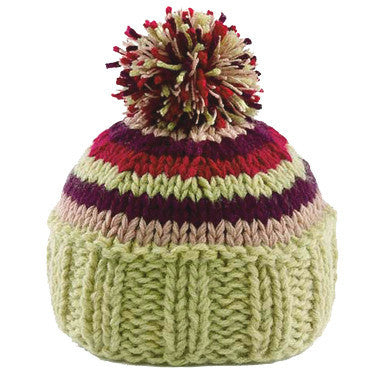 Pom's Away Baby and Toddler Girl Beanie Hat