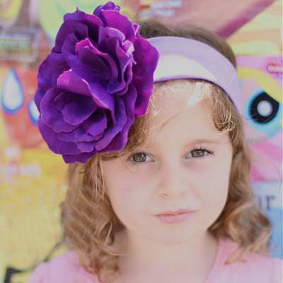 Lavender Fields Baby Headband