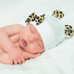 Little Leopard Newborn Girl Hospital Hat icon