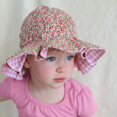 Perfect Picnic Baby and Toddler Girl Sun Hat  a7948d0f0ac