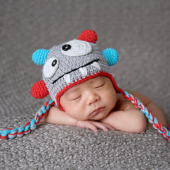 Mini Monster Baby Hat For Baby and Toddler Boys icon