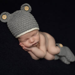 Mouse -N- Boots Hat and Booties Set - Newborn Boys icon