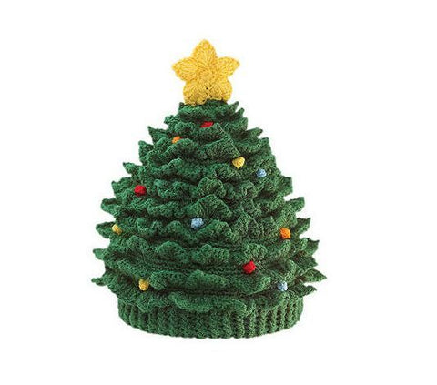 Oh Christmas Tree Baby Hat | Toddler Crochet Hats
