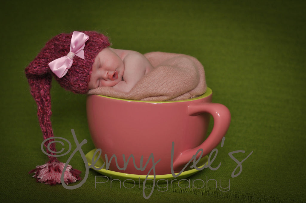 Pink Pixie Dust Baby Girl Hat