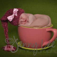 Pink Pixie Dust Baby Girl Hat icon