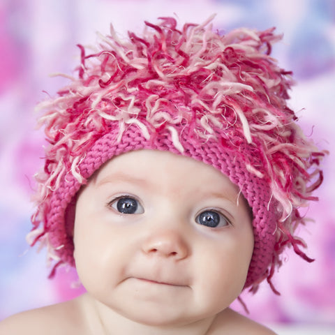 Zooni Pretty & Pink Baby, Toddler and Kids Girl Hat