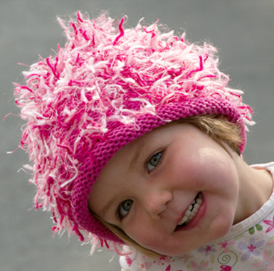 Zooni Pretty & Pink Baby, Toddler and Kids Girl Hat - FULLY FLEECE LINED